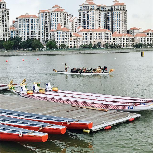 Drachenboot, Wettbewerb, Training