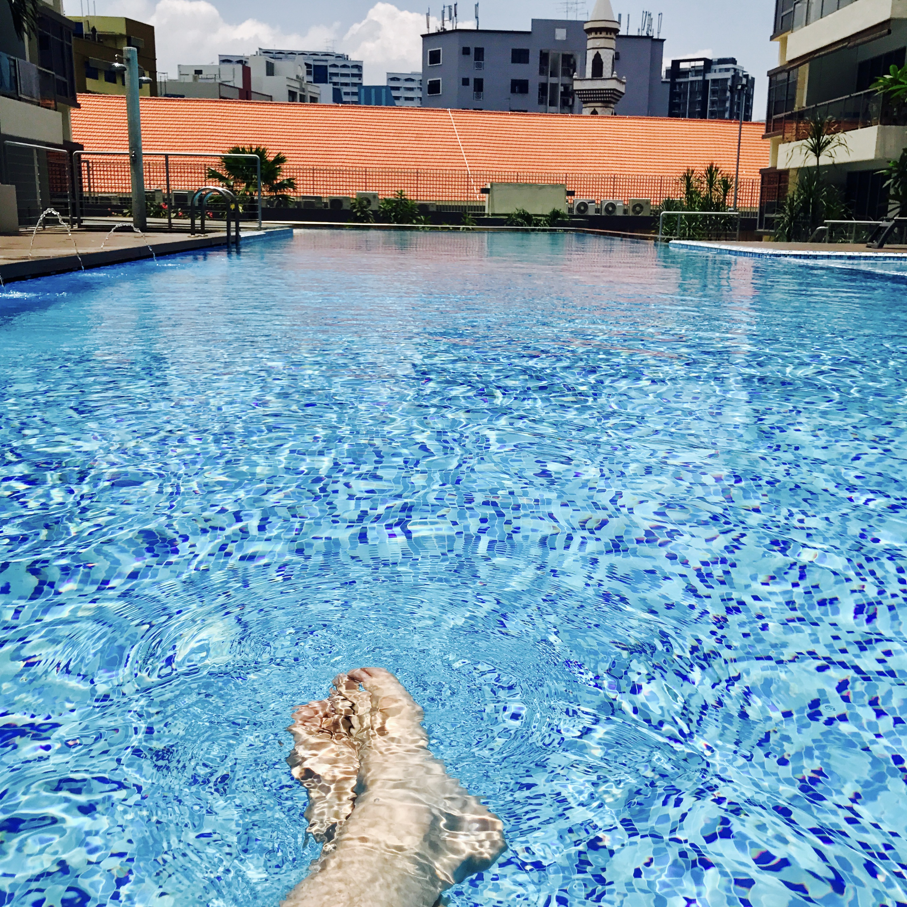 Swimmingpool Condo Singapur