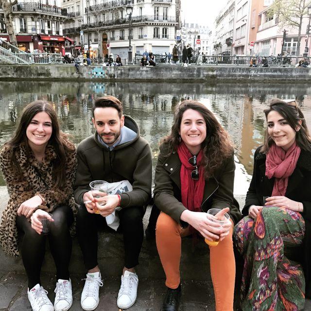 """Meine italienischen Freunde von Erasmus-Zeiten - wir kehren alle wieder zurück in """"unsere"""" Erasmus- Stadt, weil wir uns alle so gern haben! """"l'amour toujours"""""""