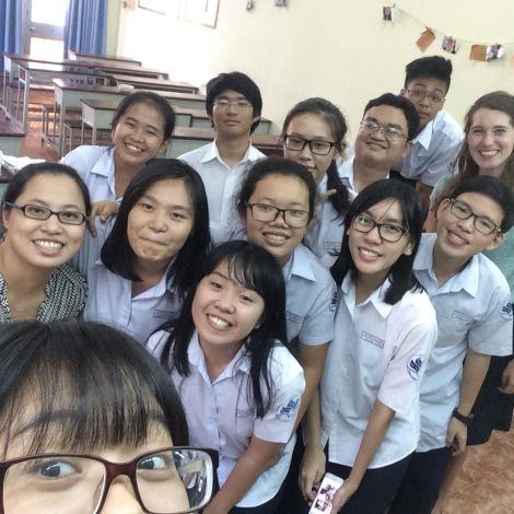 Klasse und Clara Vietnam