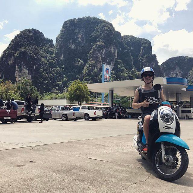 Thailand, Roller, Spass, Sightseeing, Natur
