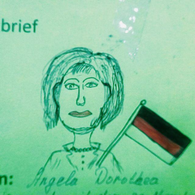 Skizze Steckbrief Deutschunterricht Bischkek Kirgistan