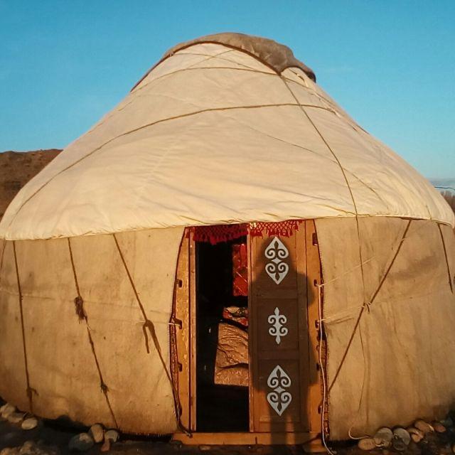 Schlafplatz Jurte Kirgistan