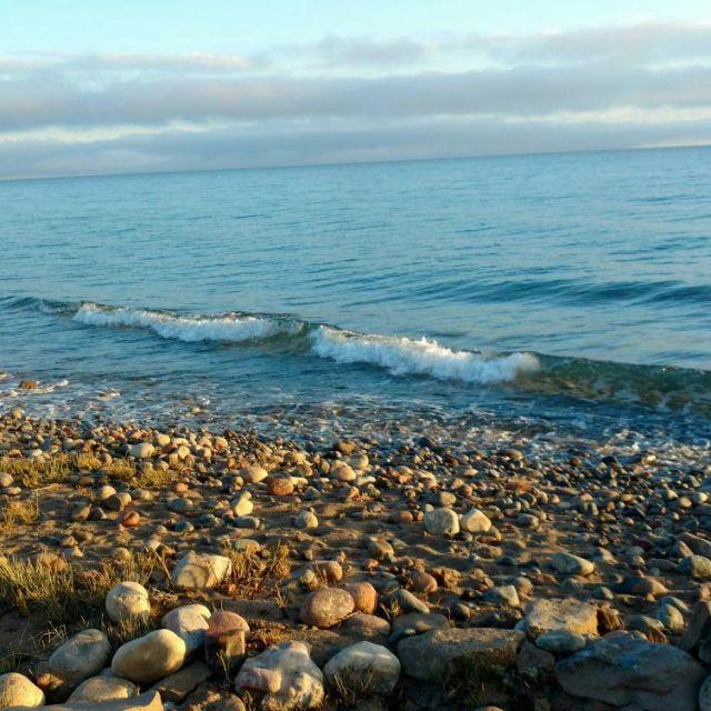 Strand Sonnenaufgang am IssykKul