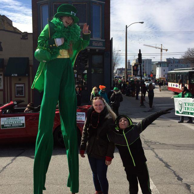 St. Patrick's Day Parade mit Ben