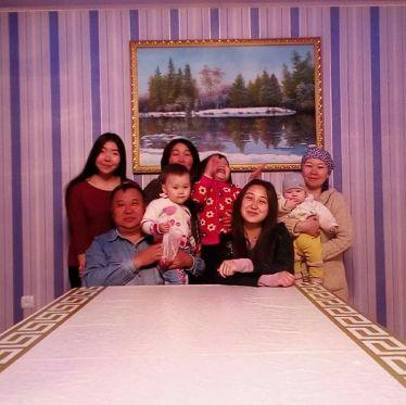 Die Gastfamilie in Kirgistan