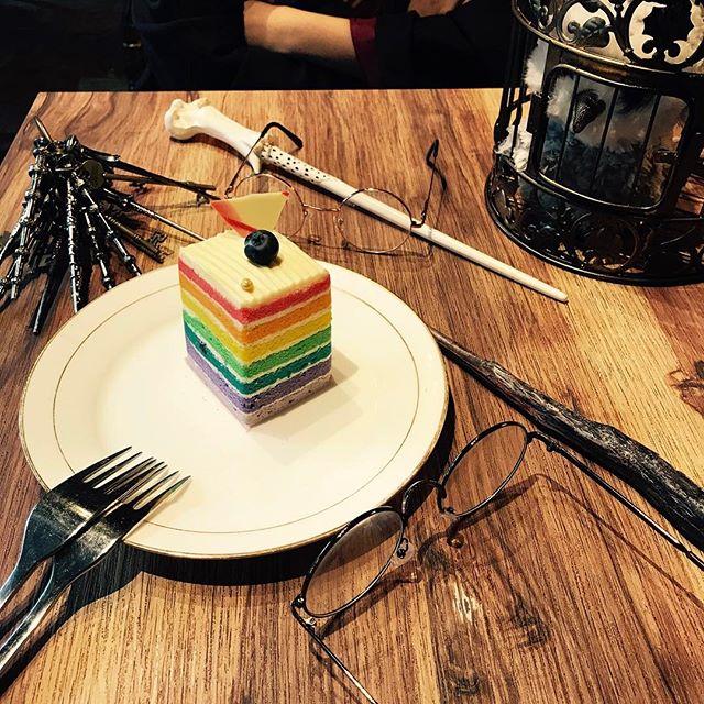 Harry Potter Café, Rainbow Cake