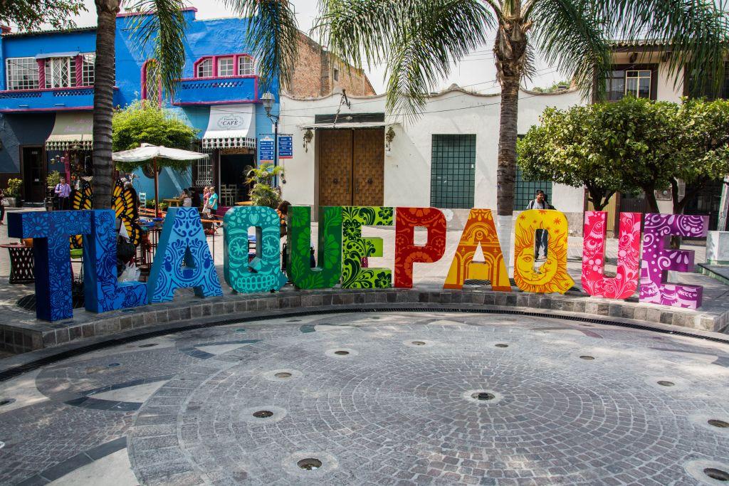 Das Logo von Tlaquepaque