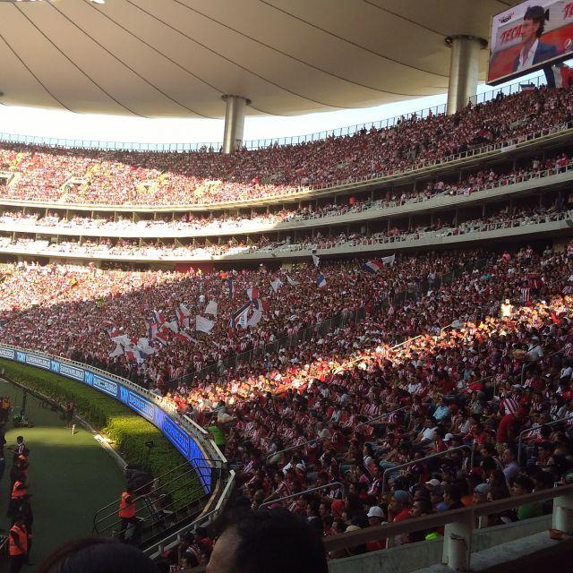 Stadion voller Fans