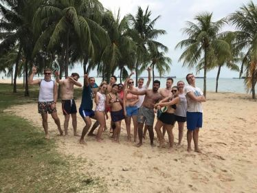 Beachvolleyball, Team, freunde