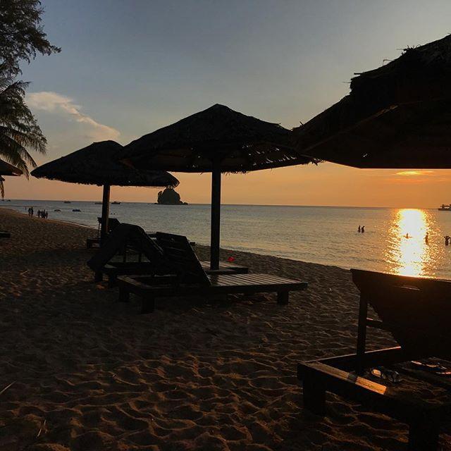 Strand, Resort, Tioman, Urlaub