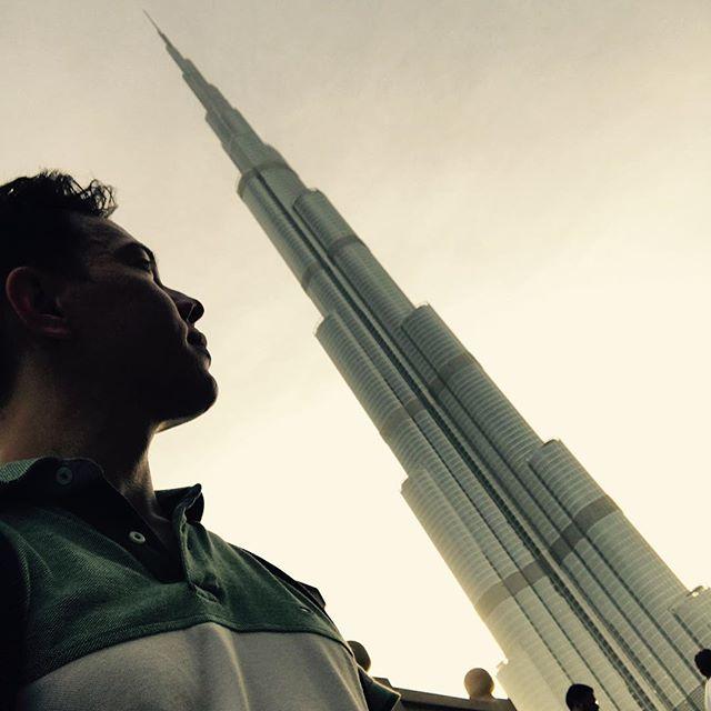 Burj Khalifa, heiß