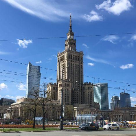 Wahrzeichen Warschaus