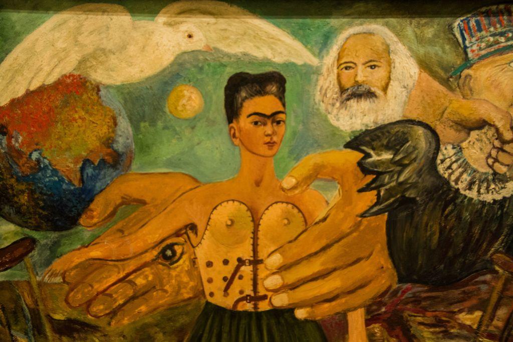 Ein Gemälde von Frida Kahlo