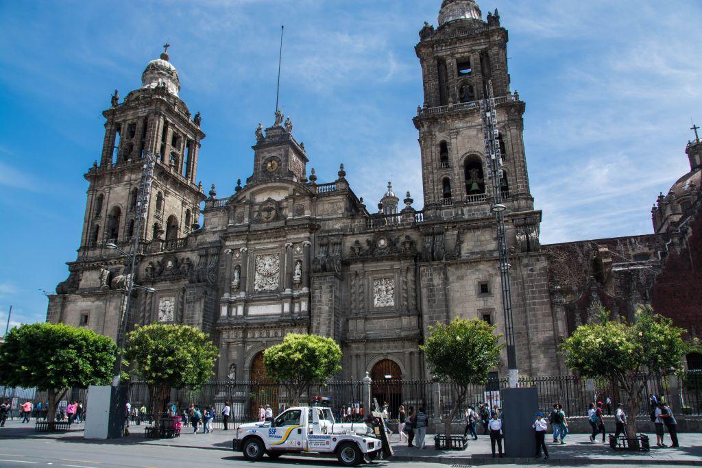 Die Kathedrale von Mexiko Stadt