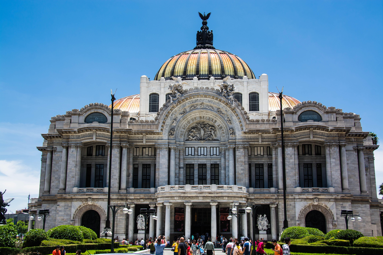Der Palacio de Bellas Artes