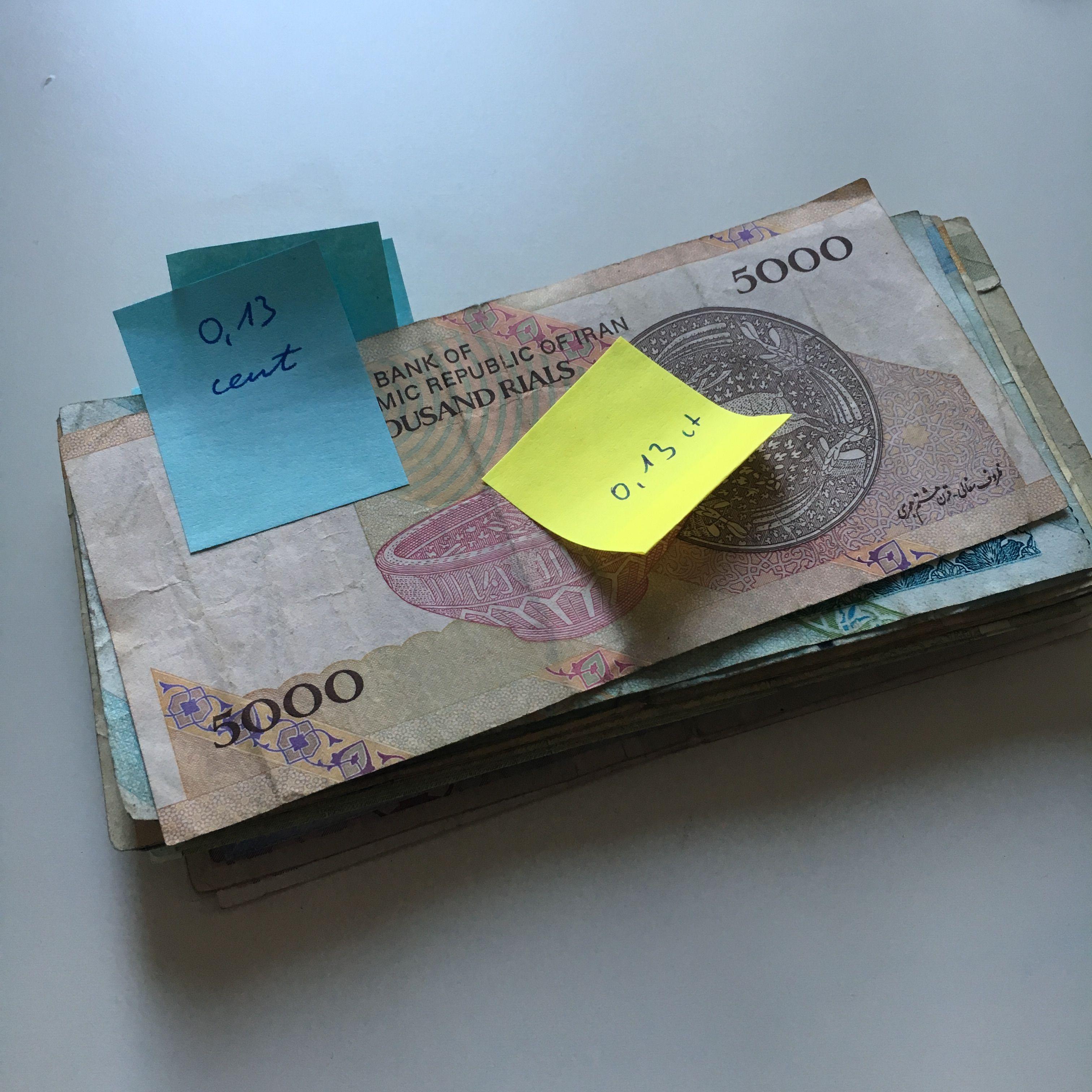 Plötzlich Millionärin – wie viel kostet ein Auslandsjahr in Iran?