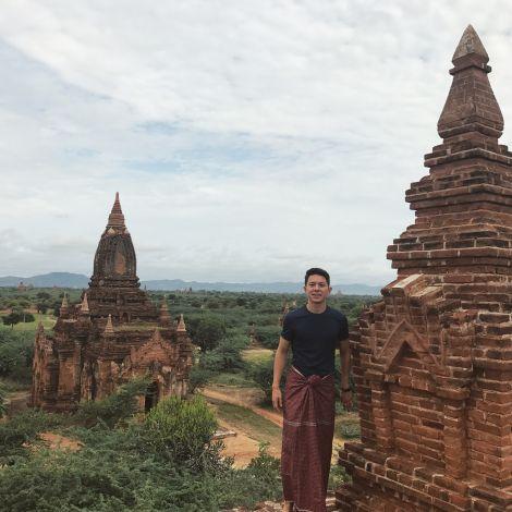 Pagoda, Tempel, Bagan,