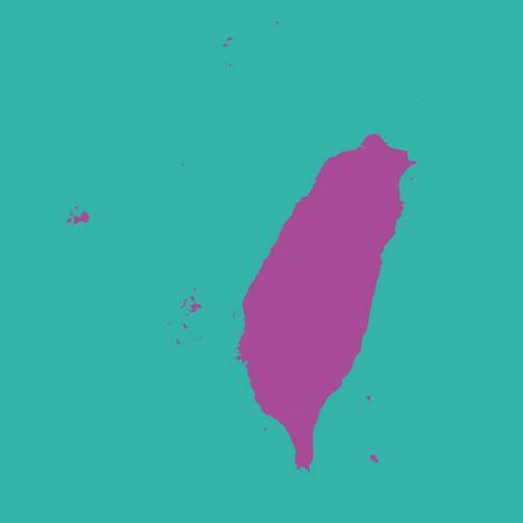 Karte Taiwans