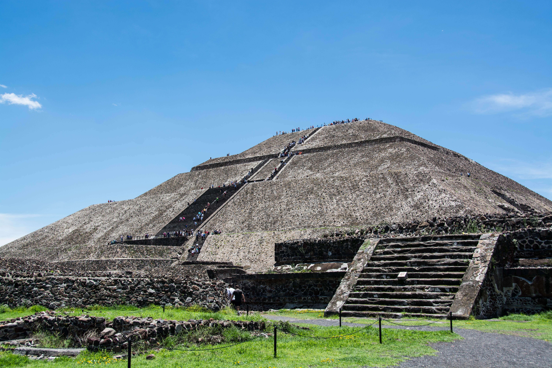 Große Pyramide der Atzteken