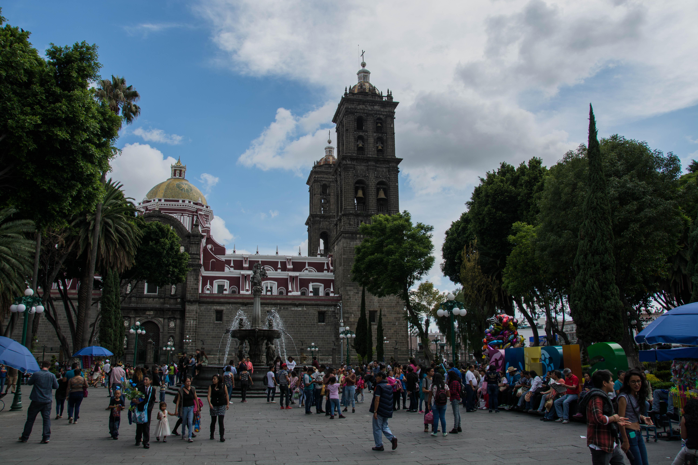 Hauptplatz von Puebla