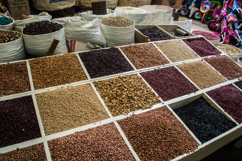 Bohnen in allen Farben