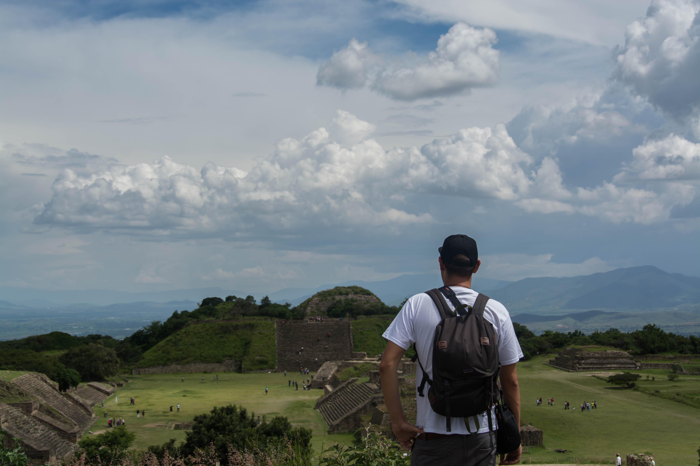 Ausblick auf die Ruinen