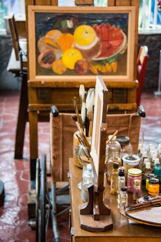 Malwerkzeug von Frida Kahlo