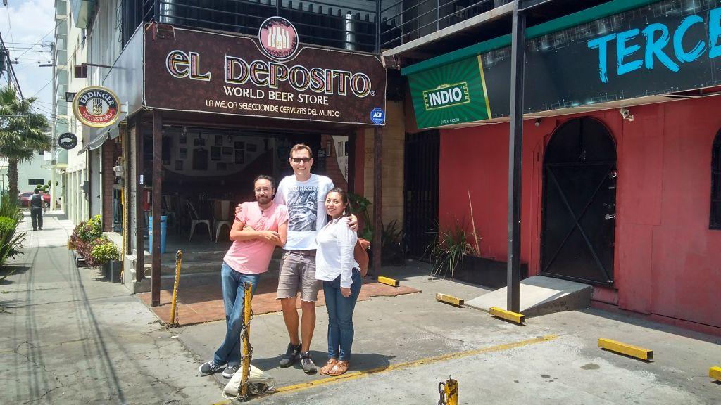 Ich mit 2 mexikanischen Freunden