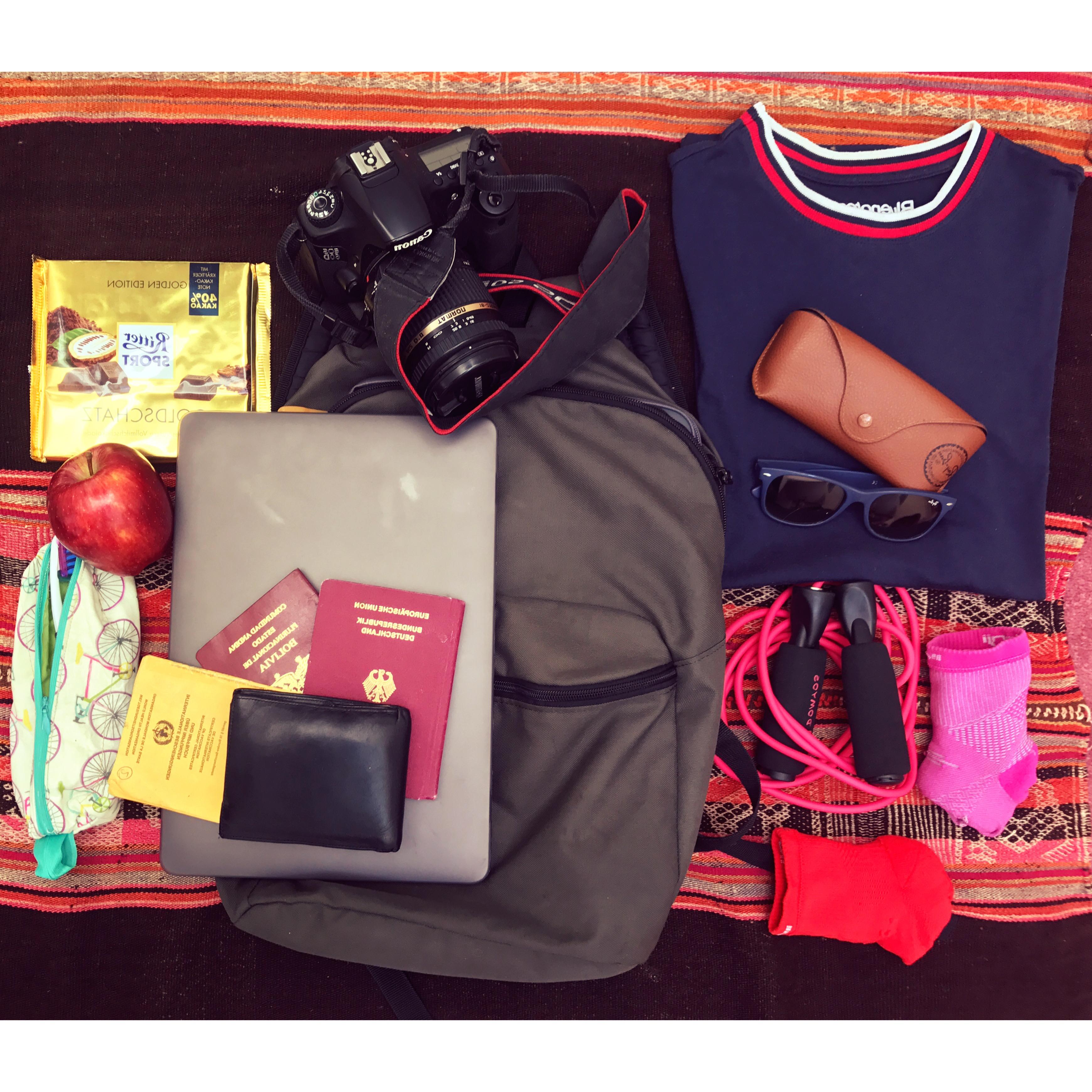 Wie packe ich mein Leben in einen Reiserucksack?