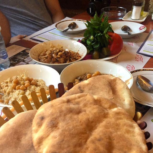Typisches libanesisches Essen
