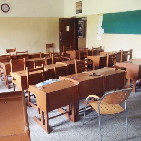 Ein indisches Klassenzimmer