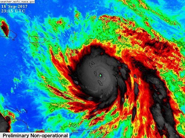 Hurrikan Maria –  Was würdest du tun?