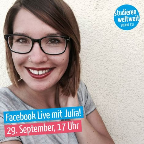 Facebook Live mit Julia