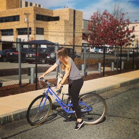 Fahrrad Uni Straße