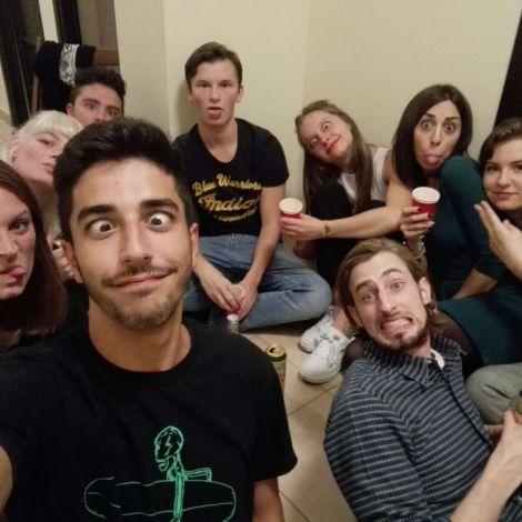 Neue Freunde im Auslandssemester in Krakau