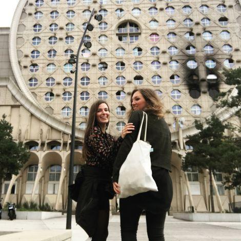 Reise in die Vororte von Paris