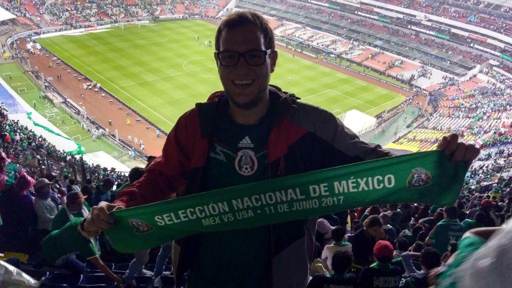 Im Stadion von Mexiko-Stadt