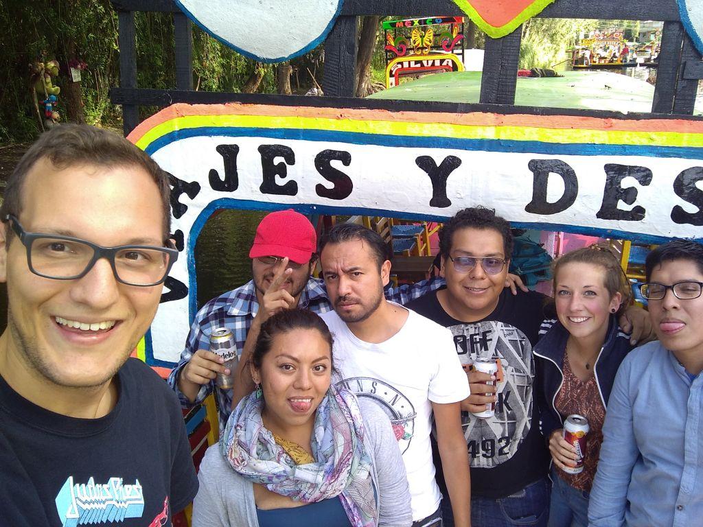 Meine Freunde in Mexiko-Stadt
