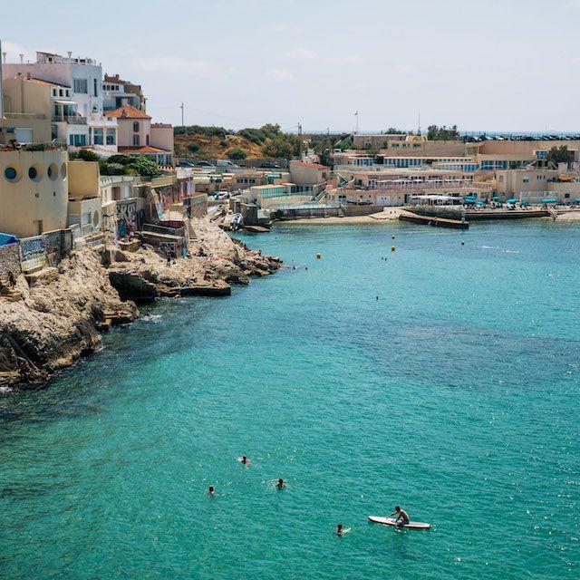 Das Mittelmeer vor Marseille.