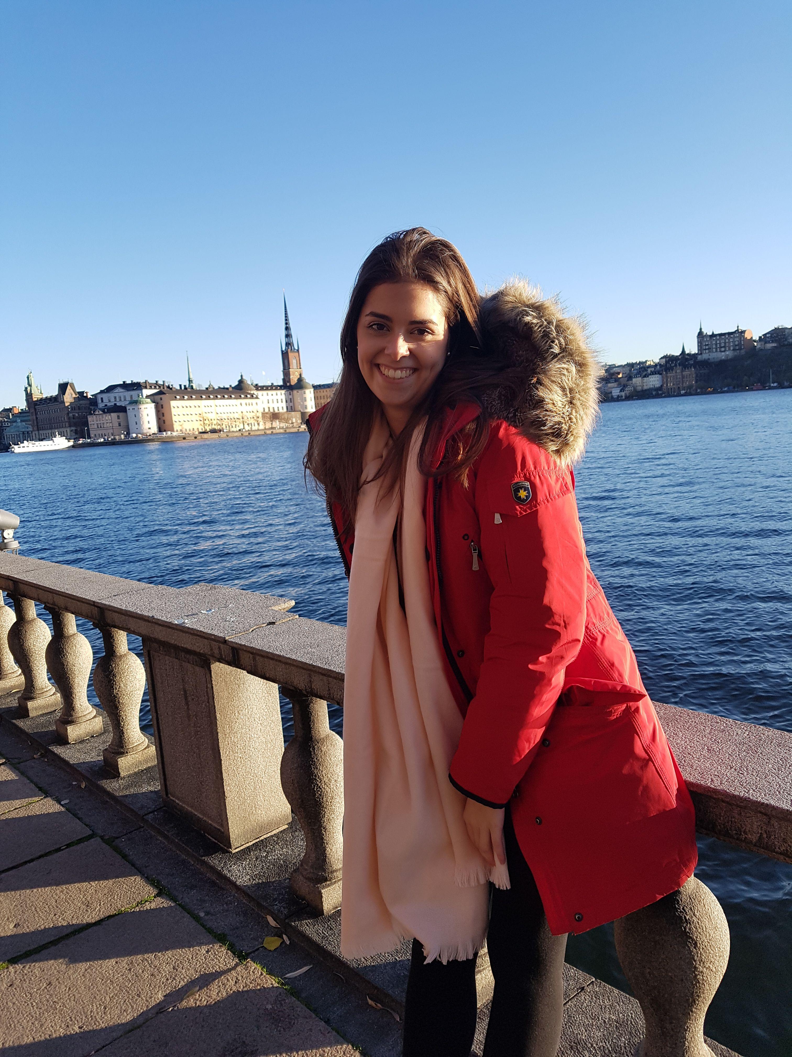 Stockholm bei bestem Wetter