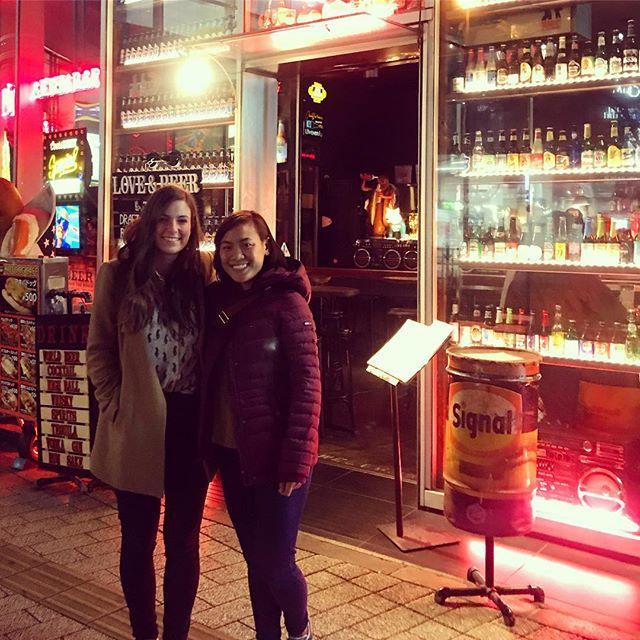 Cindy und ich in Japan