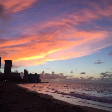 Letzter Abend in San Juan