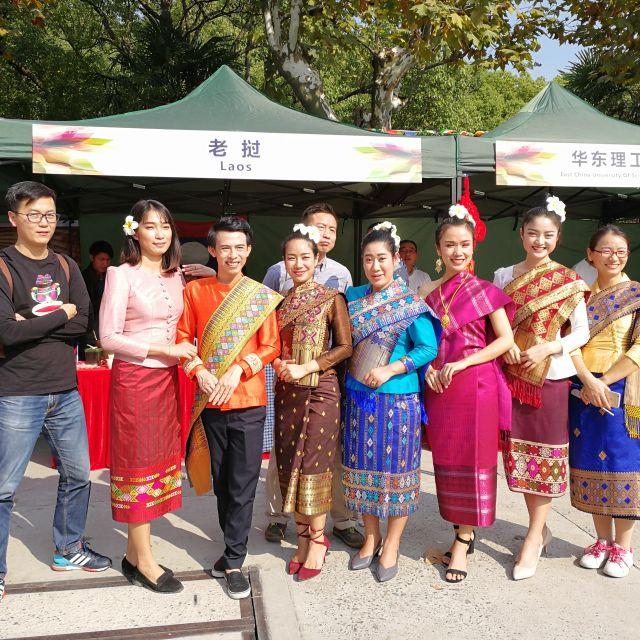 Traditionelle süd-ost-asiatische Kleidung