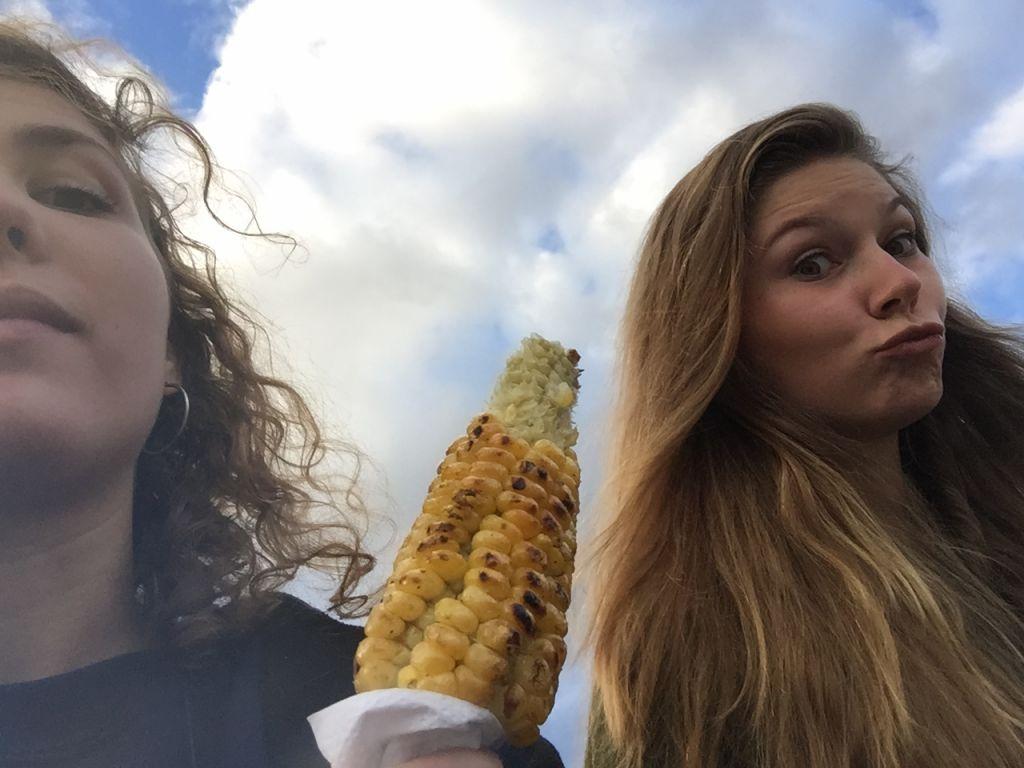 angebratener Mais