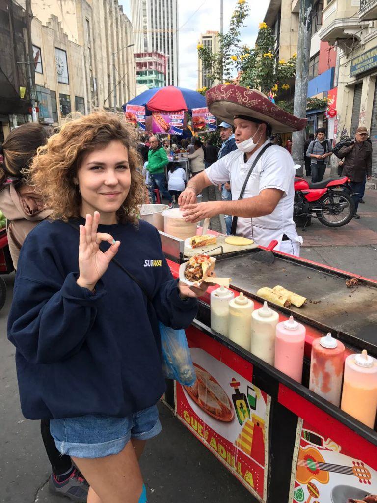 Mexikanischer Essensstand