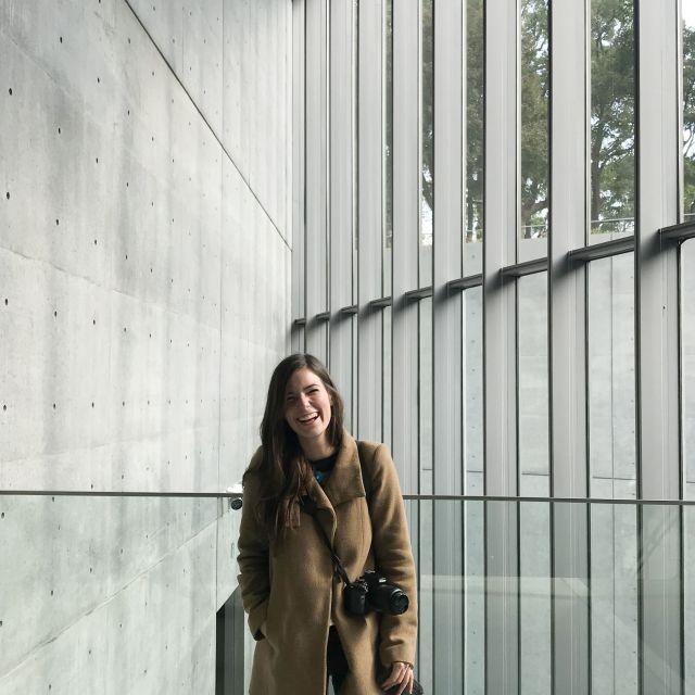 Wunderschön verarbeiteter Beton, das kann nur von Tadao Ando sein! Hier war ich im Design Sight, die Ausstellung und das Gebäude sind sehr sehenswert und 5 Euro Eintritt lohnt sich auch!