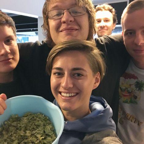Brauverein, Hopfen, Freunde