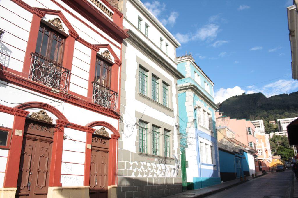 Schöne Architektur in Bogotá