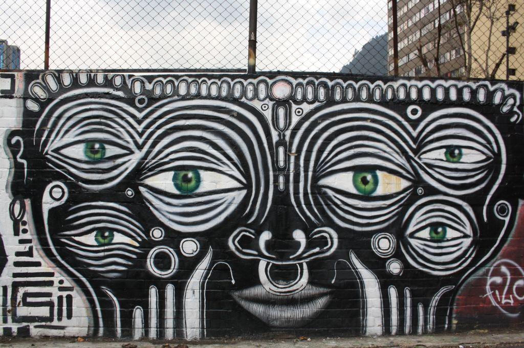 Grafitti von Augen